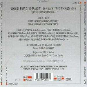 nikolai rimsky korssakoff die weihnacht 2 cds jpc. Black Bedroom Furniture Sets. Home Design Ideas
