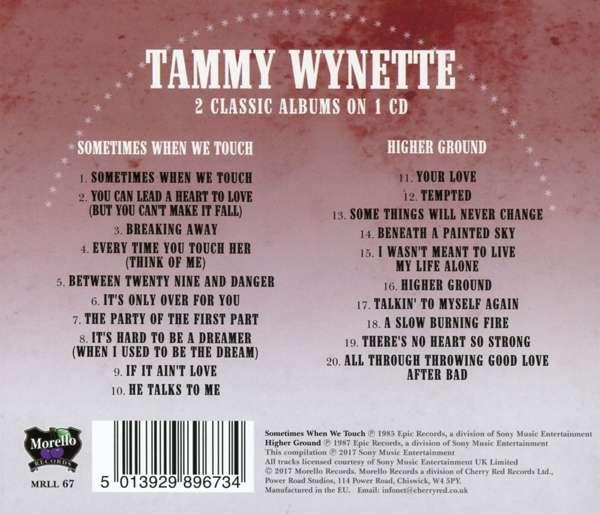 Tammy Wynette Sometimes When We Touch Higher Ground Cd