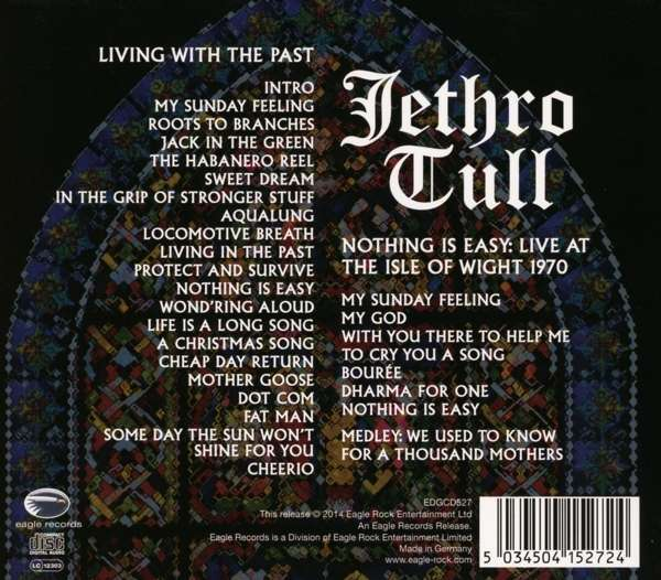 Jethro Tull Living With The Past Nothing Is Easy Live