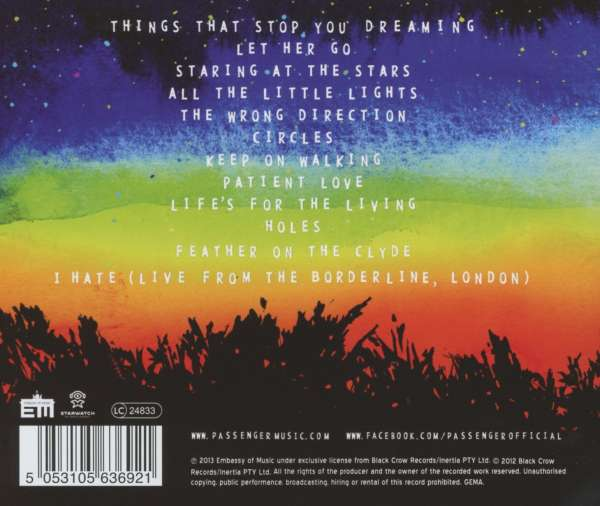 All the Little Lights (Deluxe Version) by Passenger