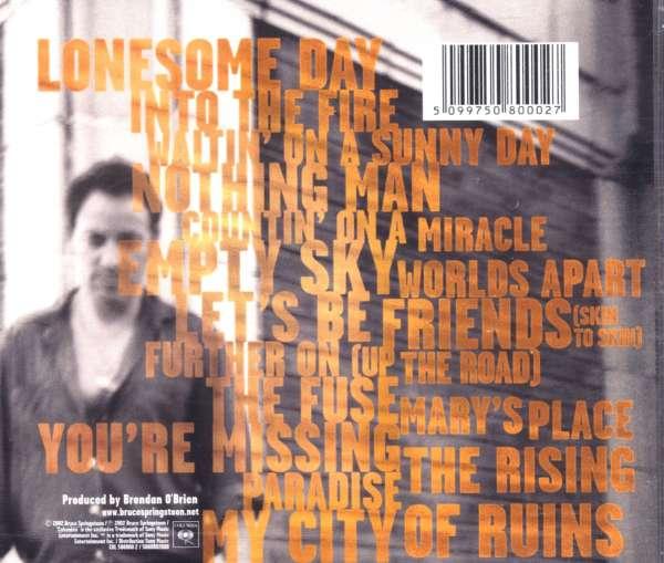 Bruce Springsteen The Rising Cd Jpc