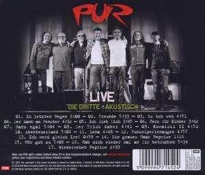 pur live dritte akustisch cd jpc